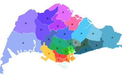 新加坡地区与地点